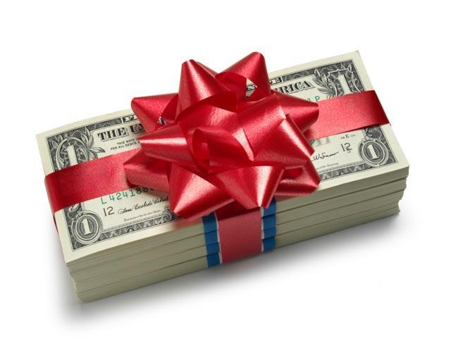 Подарки в денежной форме 926